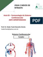 Aula 03 - Sistema Cardiovascular Fmabc 1s2017