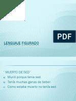 Lenguaje Figurado, ejemplos