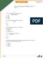 Guía Con Nota Acumulativa Cuarto Básico (Repaso Coef.2)