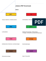 Elektrosymbole Installationsplan PDF