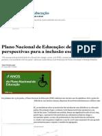 Plano Nacional de Educação_ Desafios e Perspectivas Para a Inclusão Escolar