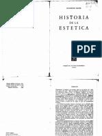 Raymond Bayer Historia de La Estética