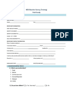 NEO Print-Friendly Baseline Survey a Training