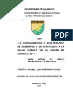 Sobrado Chavez, Soledad
