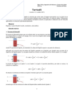 El teorema de Torricelli