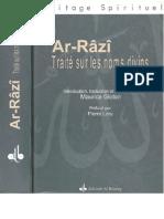 Traité sur  les noms divins Arrazi