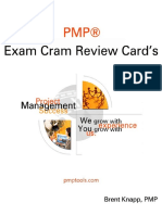 Complete Pmp Exam Review Cards.pdf