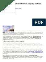 Rafael Seabra - 5 Premissas Para Montar Sua Própria Carteira de Ações