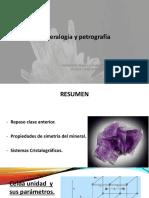 02. Mineralogía y Petrografía - Química Mineral y Cristalografía
