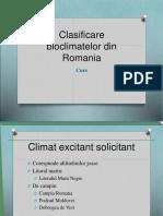 Bioclimatul in Romania.ppt