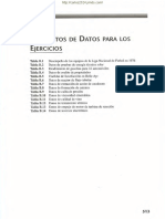 Tabla de Datos Para Regresion