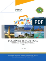 Boletin de Estadisticas Turisticas de Centroamerica 2010