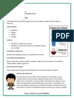 ESTADOS DE LA MATERIA, 2° DE PRIMARIA
