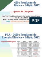 PEA 2420 Geracão Hidrelétrica Parte 1 V2012.ppt