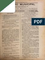 Registro Municipal Cundinamarca, 1919 16 de Agosto
