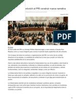 22-08-2018 - Llama Claudia Pavlovich Al PRI Construir Nueva Narrativa - Las5