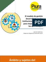 Modelo de Gestión Escuelas Exitosas 2017