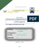Dinero Electroni en El Peru