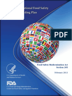 FDA GUIDE for food safety bilingual