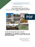 Mejoramiento de Servicios Turisticos de Los Principales Atractivos de Cusco