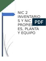NIC 2 Y NIC 16