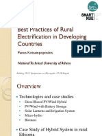 Best Practices Rural Electrification