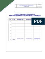 Banco de Baterías y Rectificador - Cargador v0