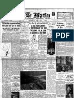 Le Matin - 24 Aprile 1936