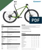 Giant Bicycles Bike 1033