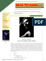 Paulo Colina – Brasil – Poesia Dos Brasis – São Paulo - Www.antoniomiranda.com.Br