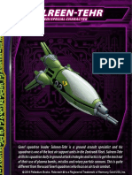 Zentraedi Sulreen-Tehr Character Card for Robotech RPG Tactics