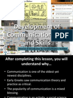 Development of Communication Field & Skill 2