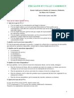Fiscalité Et TVA Au Cameroun