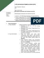 RPP 14.DKK.5. Menerapkan Keselamatan Dan Kesehatan Kerja (K3) SMK PAL