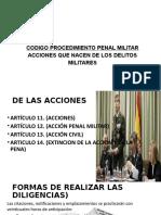 Codigo Procedimiento Penal Militar