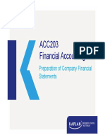 ACC203 Financial Stm