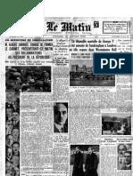 Le Matin - 24 Gennaio 1936