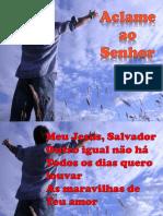 ACLAME AO SENHOR - DIANTE DO TRONO.pptx