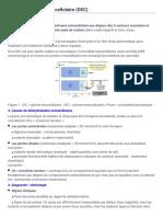I Déshydratation Extracellulaire (DEC) - Publication Du CUEN _ Physiologie Et Physiopathologie Rénales
