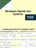 bandpass information