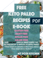 Free Keto Paleo Recipes E Book
