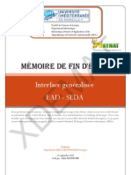 Xdemat Interface Generalisee SEDA - EAD - mémoire
