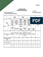 Tabla especificaciones Prueba Física N°5-FILA A y B- 7  Básico -EL REFUGIO
