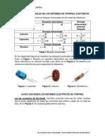 Resumen Sistemas Eléctricos de Control