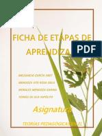 FICHAS DE ETAPAS DE APRENDIZAJE