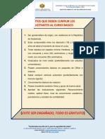 Requisitos e impedimentos