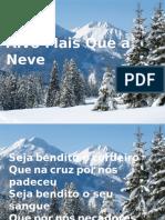 Alvo Mais Que a Neve -Fernandinho