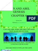 Sunday School Lesson Activity 104 Cain and Abel Power Point 1.ppt