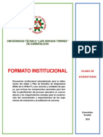 1. Instructivo de Sílabo Utelvt 2018