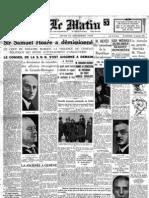 Le Matin - 19 Dicembre 1935
